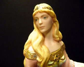 Final Clearance ~ Guinevere figurine from Lenox's Legendary Princess Collection