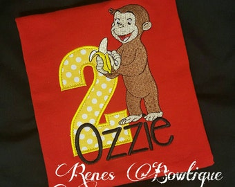 Curious George TShirt