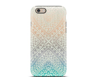 iPhone 6 Plus case, iPhone 7 case, iPhone 6 case, iPhone 5 case, iPhone 5s case, iphone case, iPhone 6s case tough, iPhone 6 - Aztec Ombre