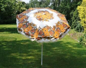 Vintage garden parasol