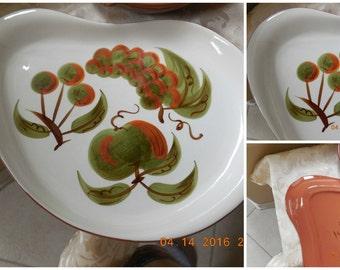 STANGL PLATTER CREPE Pan Stangl bowls