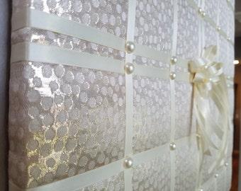 Wedding photo board, memo board, photo board, memory board, vision board, fabric memo board, French memo board, memory boards, notice board