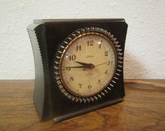 vintage TELECHRON SELECTOR household timer model 8H55 , bakelite case * Warrren Teechron Co. ** works well