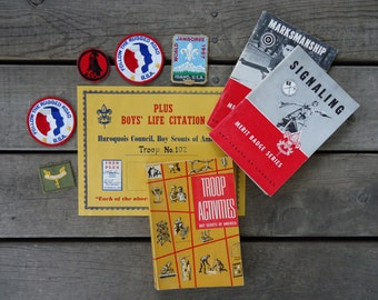 Boy Scouts Books and Patches