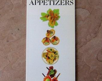 Appetizer Cookbook, The Book of Appetizers Cookbook, Vintage 1986 Cookbook, June Budgen Appetizer Recipes Cookbook, Appetizers Cook Book