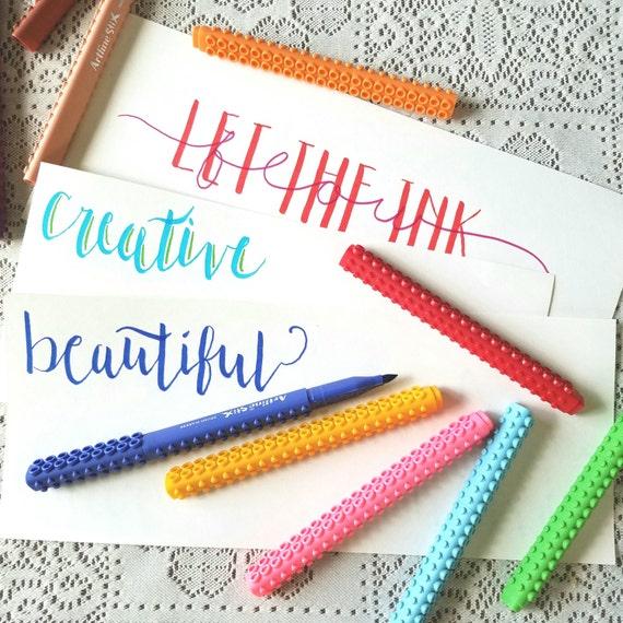 Art Line Questions : Artline brush markers calligraphy pen set ombre