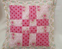 Quilted patchwork Tilda Cushion