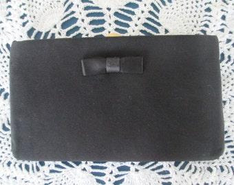 Vintage Black Formal Evening Clutch Purse Handbags Women Accessories Evening Bags