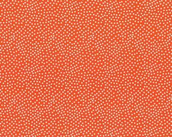 Michael Miller Fabrics - Garden Pindot Clementine - CX1065-CLEM-D