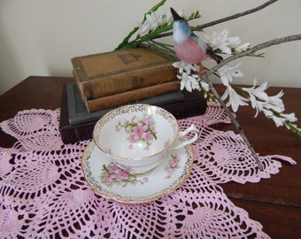 Collingwoods Cherry blossom tea cup