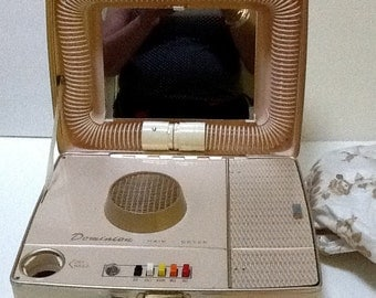 Vintage Dominion Hair Dryer / NEW / 1960's / Retro / Kitsch / Bath and Beauty / Collectible
