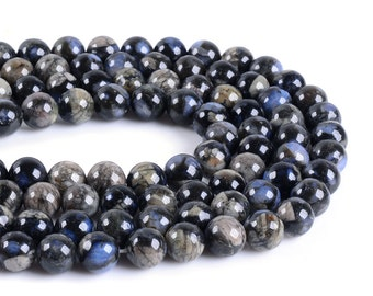 "8mm162 Llanite round ball loose gemstone beads 16"""