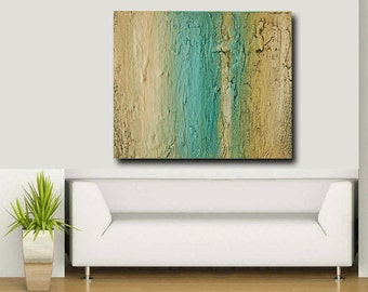 Large Painting, Acrylic Painting, abstract art titled: Earth Tones 1 -30x40 By Ava Avadon