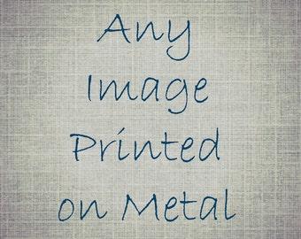 Metal Photograph Aluminum Photography Coastal Decor Wall Art Ready To Hang Artwork Modern Home Decor Photograph on Aluminum Metal Print