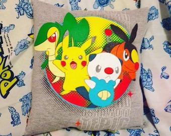 Pokemon travel/throw pillow