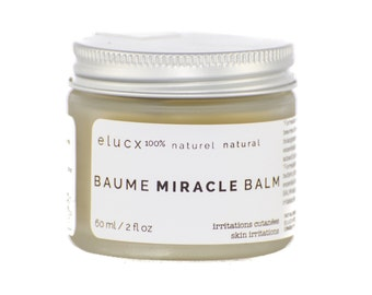 SPA GIFT Miracle Balm. Organic Skin Care. for Irritated Skin. 100% Natural. Handcrafted