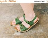 SALE 20% OFF: Narrow Foot, Wide Foot, Summer Shoes, Women Sandals, Custom Sandals, Light Green Leather Sandals, Summer Sandals, New Sandals