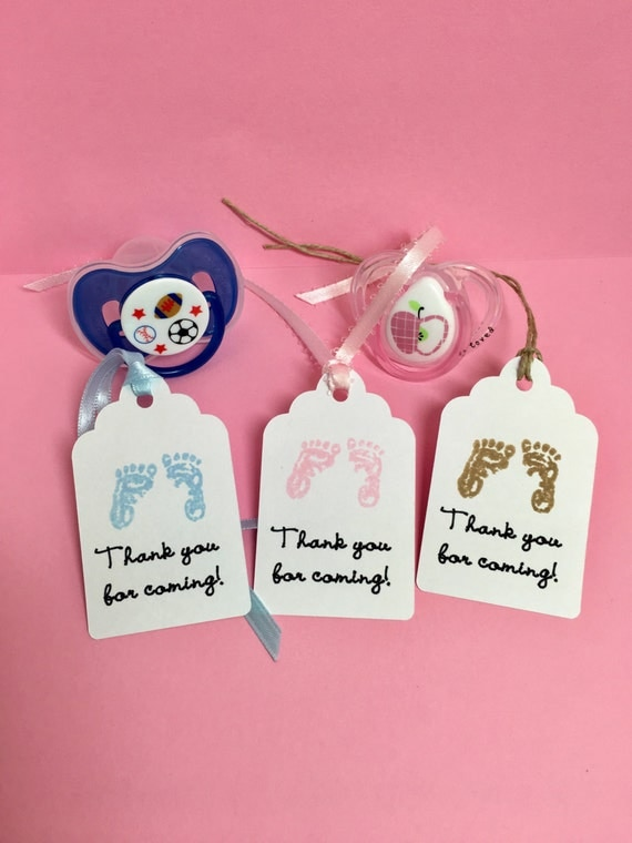 baby shower tags baby shower gift tags baby favor tags thank you