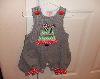 Baby Christmas Outfit - 0-6 Mos