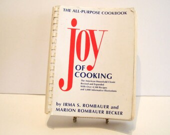 Joy of Cooking : The All-Purpose Cookbook by Irma S. Rombauer and Marion...