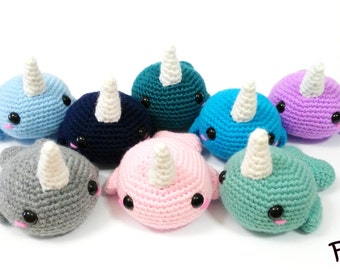 Cute little narwhals