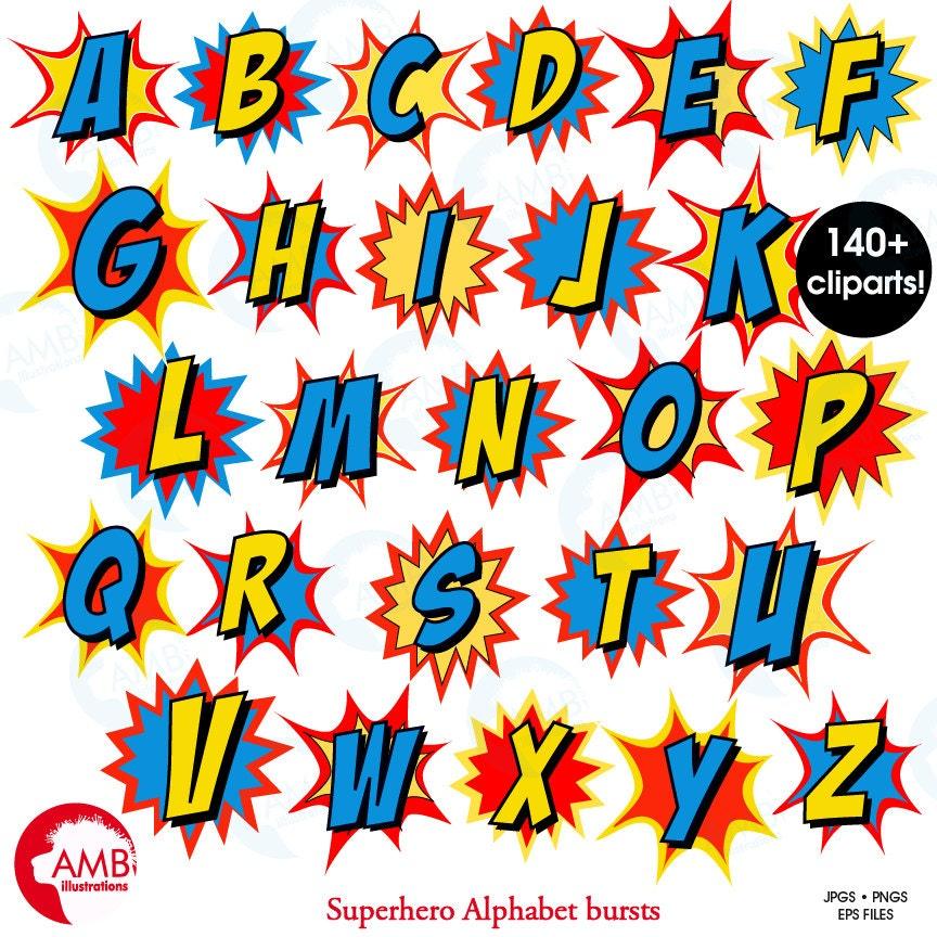 Eloquent image regarding superhero letters printable