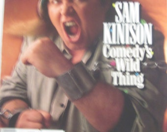 SAM KINISON Rolling Stone Interview Comedy's Wild Thing! Magazine Articles Rock and Roll Feb 1989-Collectible Book