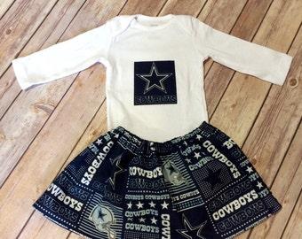 Dallas Cowboys Baby Girl Set