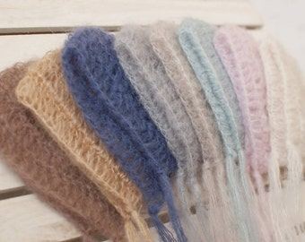 SALE 19 colours  Baby hat; Sale baby hat; Mohair like baby bonnet; Baby bonnet; Newborn bonnet