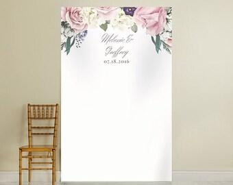 English Rose Photo Booth Backdrop (ENWF)