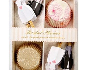 Bridal Shower Cupcake Kit