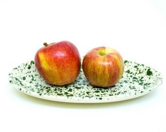Ceramic Plates,  Oval Plates, The Pottery City Pottery, Decorative Ceramic Platters, Ceramice Platter, Serving Plate,  Kitchen Decor