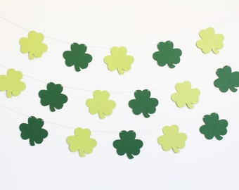 Shamrock St. Patrick's Day Party Banner - Customizable Colors