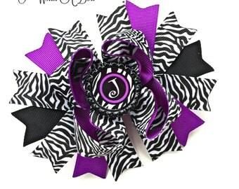 Zebra Print Bow, Zebra Print Hair Bow, Zebra Print Hairbow, Zebra Print Headband, Zebra Hair Clip, Zebra Bow, Zebra Hair Bow, Zebra Hairbow
