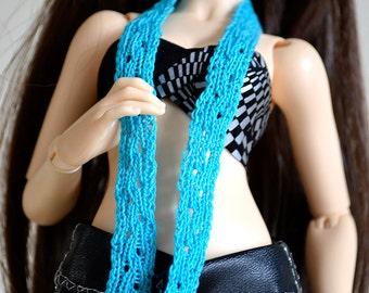"""Openwork scarf """"Twig"""" for minifee, slim MSD BJD, YoSD BJD"""