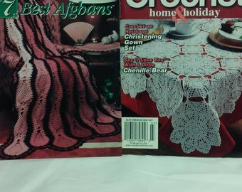 Crochet Home Pattern Books   Two Pattern Books