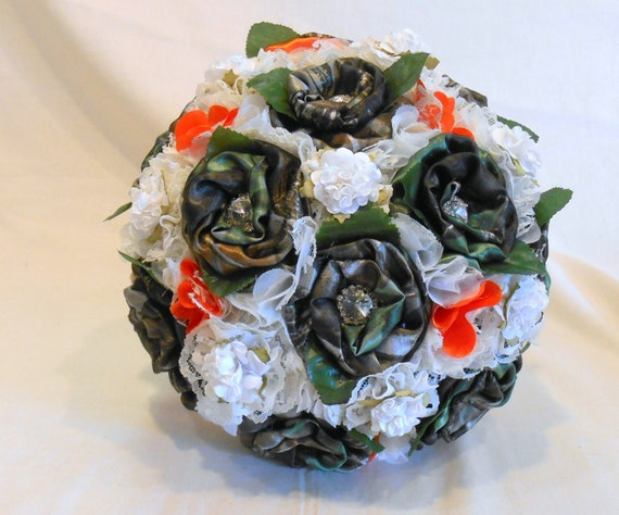 Camo wedding wedding bouquet bridal bouquet keepsake bouquet