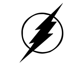 The Flash Decal - DC Comics The Flash Sticker - Flash Gordon Car Decal - The Flash Vehicle Sticker , Large Sizes Available