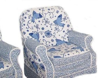 Custom 1 Cushion Chair Slipcover