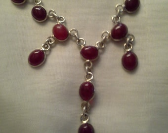 Limited Edition Garnet Necklace