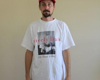 Steely Dan 90s Rock Band Tee Mens Medium
