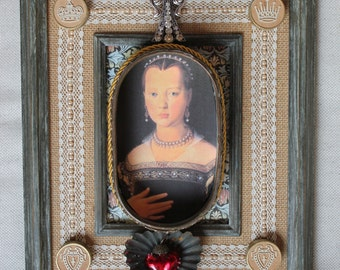 Her Majesty - Found Object Assemblage