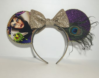 Evil Queen Inspired Mouse Ears