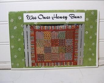 Quilting Pattern Using Honey Buns Strips