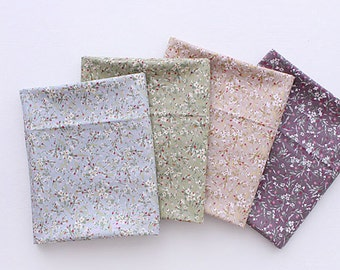 """Cotton Fabric Flower Fabric sewing by the Yard 60"""" Wide Cozy Marronnier flower"""