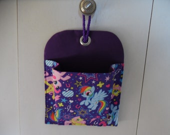 My LIttle Pony Wall Organizer Pocket / Wall Pocket / Organizer / Wall Organizer / Kids Pocket / Toy Pocket