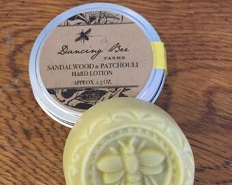 Sandalwood & Patchouli Hard Lotion