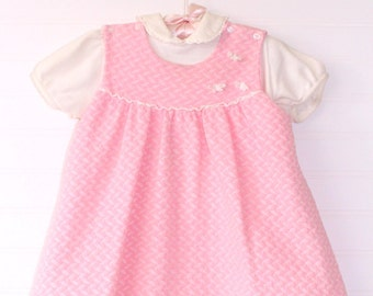 Vintage baby dress. Baby Pink, Carters for 18 Mo