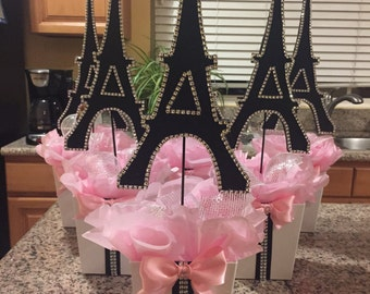 Superior Paris Eiffel Tower Centerpiece Party Theme,Paris Baby Shower  Paris Wedding  Paris
