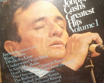 Vintage Johnny Cash Vinyl Album